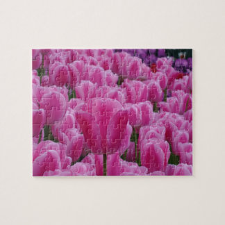 Pink Tulips Jigsaw Puzzle