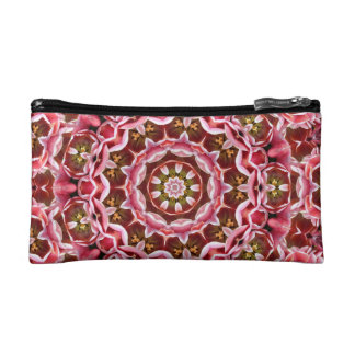 Pink Tulips Makeup Bag