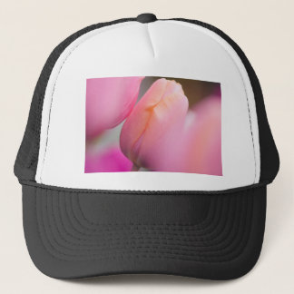 Pink Tulips Trucker Hat