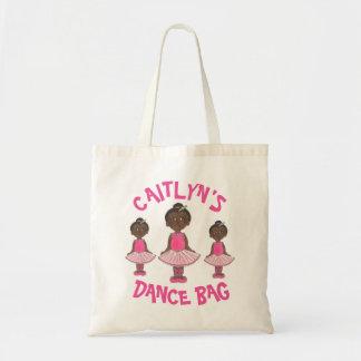 Pink Tutu Ballet Dance Bag Personalized Ballerina