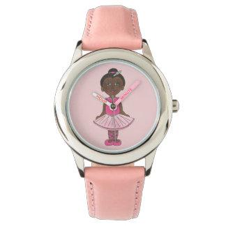 Pink Tutu Ballet Little Ballerina Dance Gift Watch