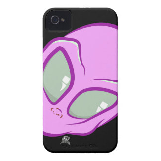 Pink UFO Martian Alien Cute Space iPhone 4 Covers