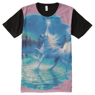 Pink Unicorn Fantasy Magic Airbrush Art