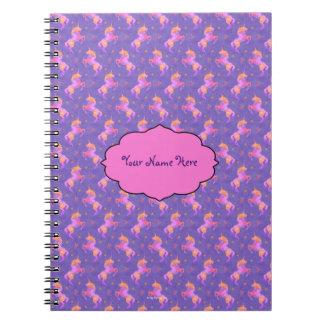 Pink Unicorns Notebooks