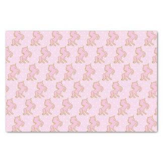 Pink Unicorns Tissue Paper