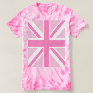 Pink Union Flag T-shirt