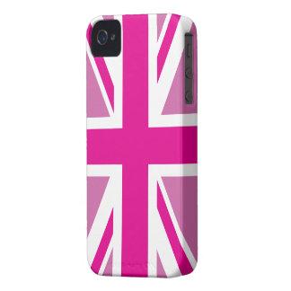 Pink Union Jack British Flag Case