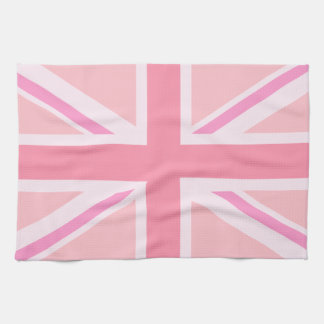 Pink Union Jack/Flag Kitchen Towel