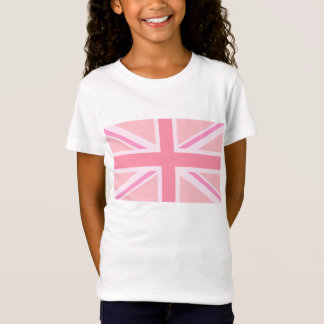Pink Union Jack/Flag T-Shirt