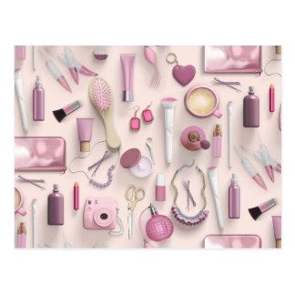 Pink Vanity Table Postcard