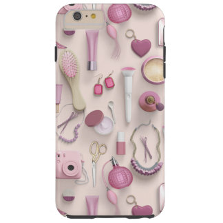 Pink Vanity Table Tough iPhone 6 Plus Case