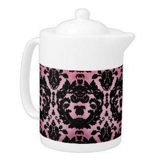 Pink Velvet Teapot