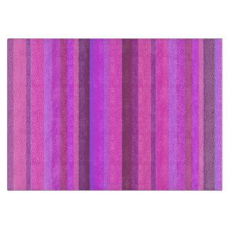 Pink vertical stripes boards