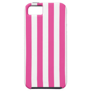 Pink Vertical Stripes Case For The iPhone 5