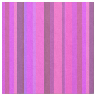 Pink vertical stripes fabric