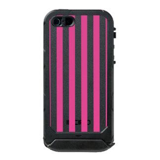 Pink Vertical Stripes Incipio ATLAS ID™ iPhone 5 Case