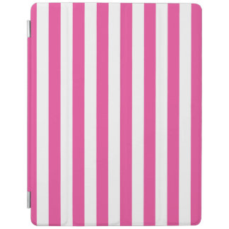 Pink Vertical Stripes iPad Cover