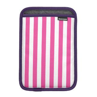 Pink Vertical Stripes iPad Mini Sleeve