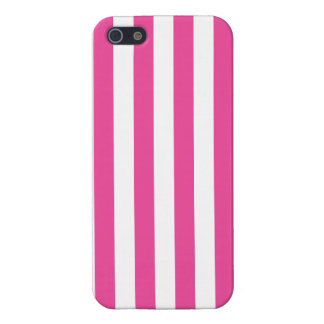 Pink Vertical Stripes iPhone 5/5S Cover