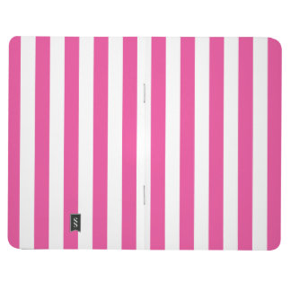Pink Vertical Stripes Journal