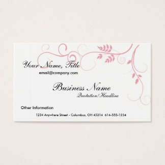 Pink Vine Business Cards