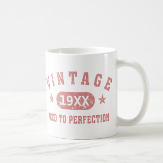 Pink Vintage Aged to Perfection Mug