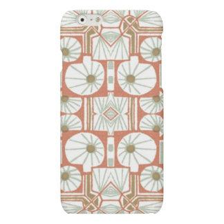 Pink Vintage Art Deco Pattern iphone Case
