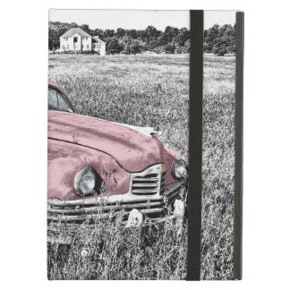 Pink Vintage Auto iPad Air Cover