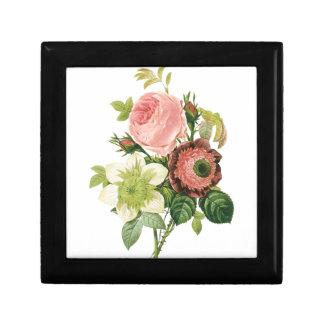 Pink Vintage Bouquet Gift Box