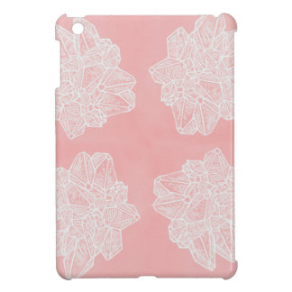 Pink Vintage Geode Pattern Case For The iPad Mini