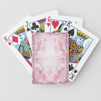 pink  vintage  old style poker deck