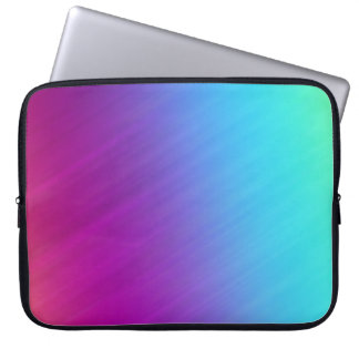 Pink Violet Blue Rainbow Abstract, Laptop Sleeve