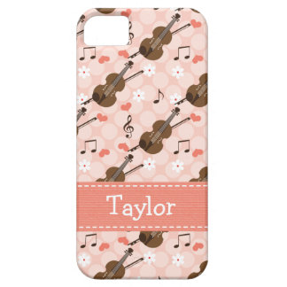 Pink Violin iPhone 5 Cover