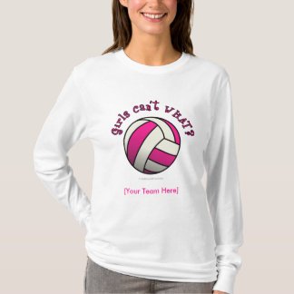 Pink Volleyball T-Shirt