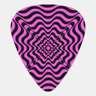 Pink Vortex Guitar Pick