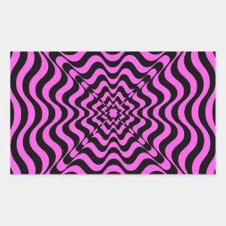 Pink Vortex Sticker