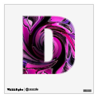 Pink Warp Zone Wall Sticker
