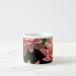 Pink Water Lily Espresso Cup