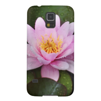 Pink Water Lily Floral Plant Galaxy S5 Case