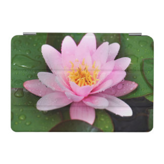 Pink Water Lily Floral Plant iPad Mini Cover