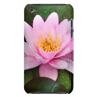 Pink Water Lily Floral Plant iPod Case-Mate Case