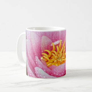 PInk water lily flower Coffee Mug