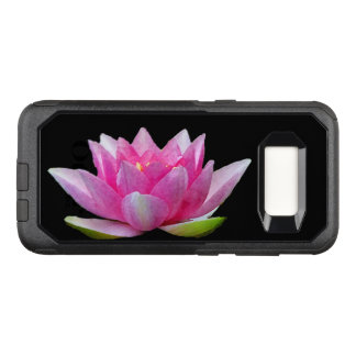 Pink Water Lily Lotus OtterBox Galaxy S8 Case