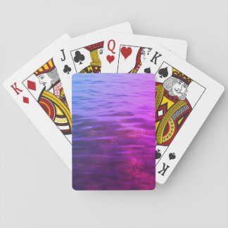 Pink Water Playing Cards