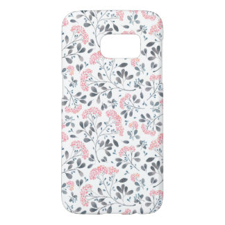 Pink Watercolor Blossoms Phone Case