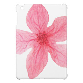 pink watercolor flower case for the iPad mini