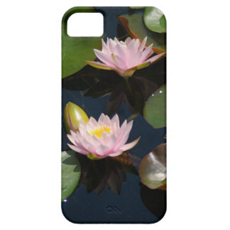 Pink Waterlilies iPhone 5 Cases