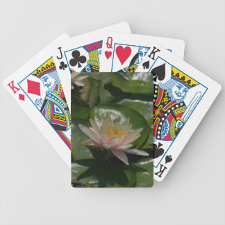 Pink Waterlilies Lotus Playing Cards