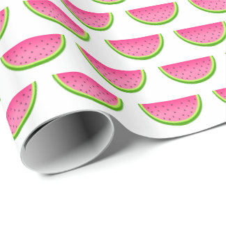 Pink Watermelon Pattern