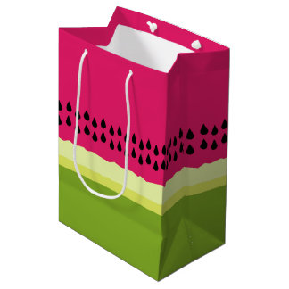 Pink Watermelon Slice Gift Bag